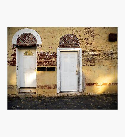 Two Doors - Corinth Photographic Print