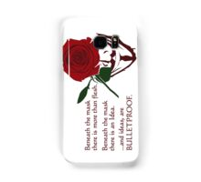 Quotes and quips - ideas are bulletproof Samsung Galaxy Case/Skin