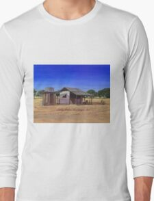 """""""Old Meathouse, Spring Valley Station, near Petford"""" Long Sleeve T-Shirt"""