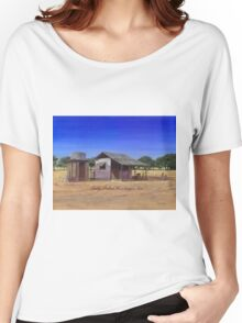 """Old Meathouse, Spring Valley Station, near Petford"" Women's Relaxed Fit T-Shirt"
