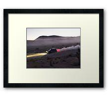 MINI - Desert Rally Framed Print