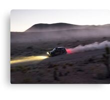 MINI - Desert Rally Canvas Print