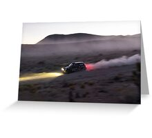 MINI - Desert Rally Greeting Card