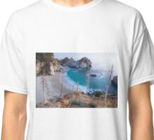 California Coast - waterfalls Classic T-Shirt