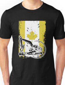 Heavy Equipment Operator In Canada Unisex T-Shirt