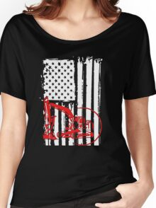 Heavy Equipment Operator in the USA Women's Relaxed Fit T-Shirt