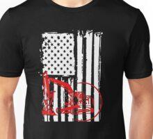 Heavy Equipment Operator in the USA Unisex T-Shirt