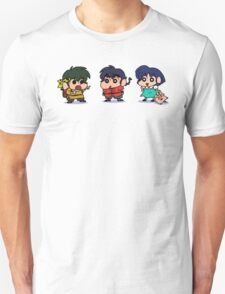 Ranma Shin Chan parody T-Shirt