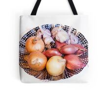 onion, shallot, garlic Tote Bag