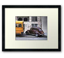 On Every Backstreet - Havana Framed Print
