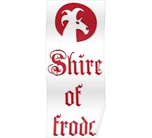 Shire of Frodo Poster