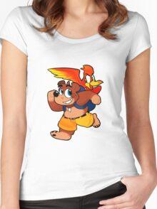 Banjo 'n Kazooie Women's Fitted Scoop T-Shirt