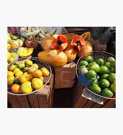 Papaya Photographic Print