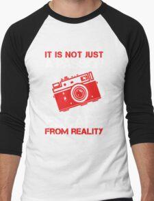 I Am Just A Photographer Men's Baseball ¾ T-Shirt
