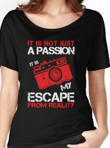 I Am Just A Photographer Women's Relaxed Fit T-Shirt