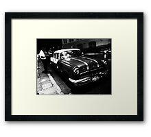 Havana Taxi Driver Framed Print