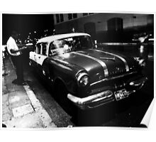 Havana Taxi Driver Poster