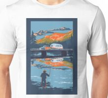 Retro Airstream travel poster Unisex T-Shirt