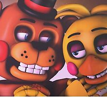 Freddy and Chica by laurenbrite