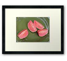 Goiaba Framed Print