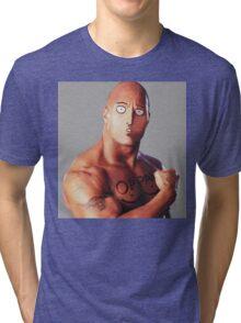 One Rock Man - Parody Tri-blend T-Shirt