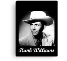 Legendary Hank Sr. Canvas Print