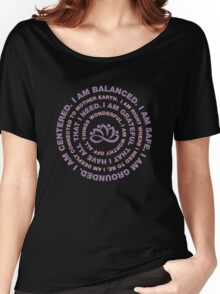 Yoga Motivational Women's Relaxed Fit T-Shirt