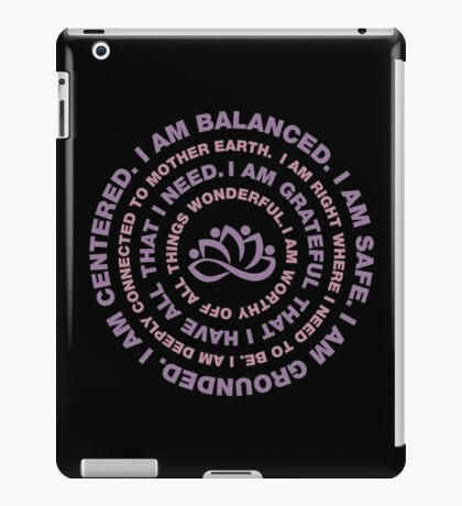 Yoga Motivational iPad Case/Skin