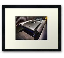 Cyclone Concept Car Framed Print