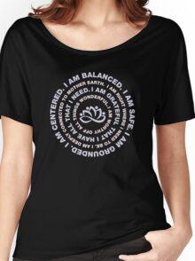 Yoga Beautiful Saying Women's Relaxed Fit T-Shirt