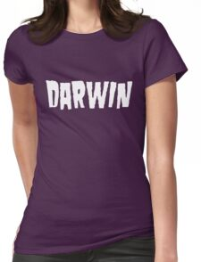 Charles Darwin / Danzig (Monsters of Grok) Womens Fitted T-Shirt