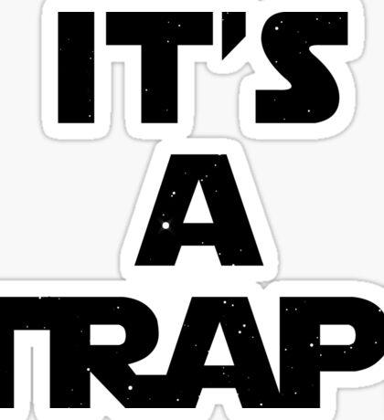 Star Wars - It's A Trap! Sticker