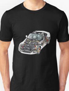 Transparant Car Unisex T-Shirt