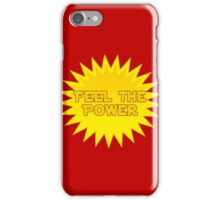 Solar Energy - Feel The Power - Sticker Decal iPhone Case/Skin