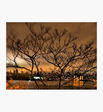 New York City and Wind Photographic Print