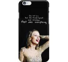 Clean Hidden Message 1 - Taylor Swift iPhone Case/Skin