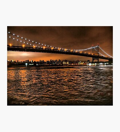 The Triborough and the Skyline Photographic Print