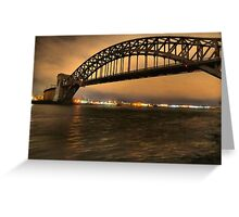The Hellgate Bridge Greeting Card