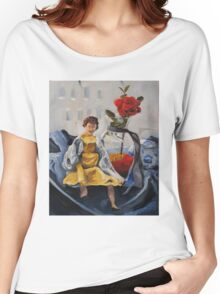 Doll by the Window Women's Relaxed Fit T-Shirt