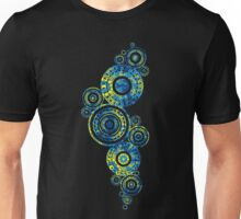 Authentic Aboriginal Art - Paisley Design Unisex T-Shirt