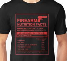 Firearm Nutrition Facts Unisex T-Shirt