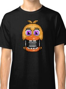 Adventure Withered Chica - FNAF World - Pixel Art Classic T-Shirt