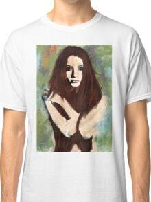 Tristesse - Digital Impressionist Painting Classic T-Shirt