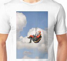 Paraglider Close-up, Above Mam Tor  Unisex T-Shirt