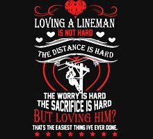 Loving A Lineman Unisex T-Shirt
