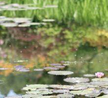 By the pond - Monet's graden Sticker