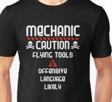 Mechanic Caution Unisex T-Shirt