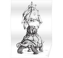 Tortoise Travel Poster