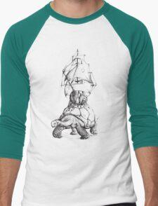 Tortoise Travel Men's Baseball ¾ T-Shirt