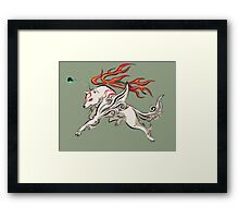 Okami - Amaterasu (ALT2) Framed Print